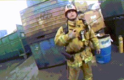 Титан в гифках Химия, Титан, Лига химиков, Взрыв, Металл, Эксперимент, Гифка, Длиннопост