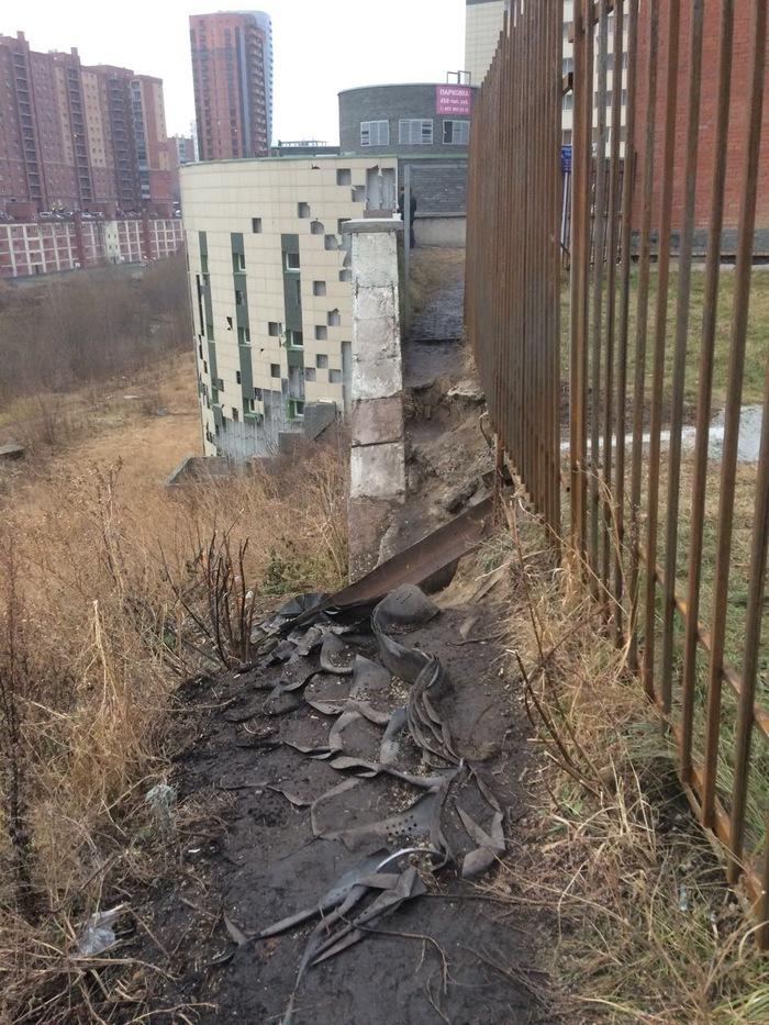 Мост раздора или как жители двух улиц мегаполиса поругались из Новосибирска, Локоть - наш мэр, верните мост, длиннопост, видео