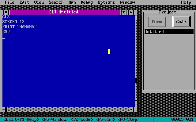 Разработка оболочки-проводника для DOS в 2017 году DOS, Оболочка, Shell, Visual basic, Qbasic, Длиннопост