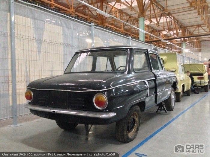 """Когда """"Запорожец"""" был красивым - чудом сохранившийся опытный образец ЗАЗ-966 Авто, Заз-966, Запорожец, Опытный образец, Советский автопром, Длиннопост"""