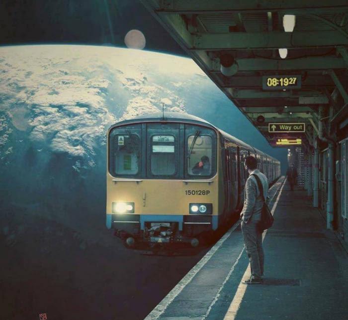 Поезд до Альфы Центавра отходит с 4 платформы