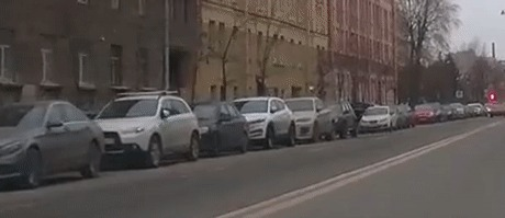 Бегун из Питера Пешеход, ДТП, Санкт-Петербург, Гифка, Видео