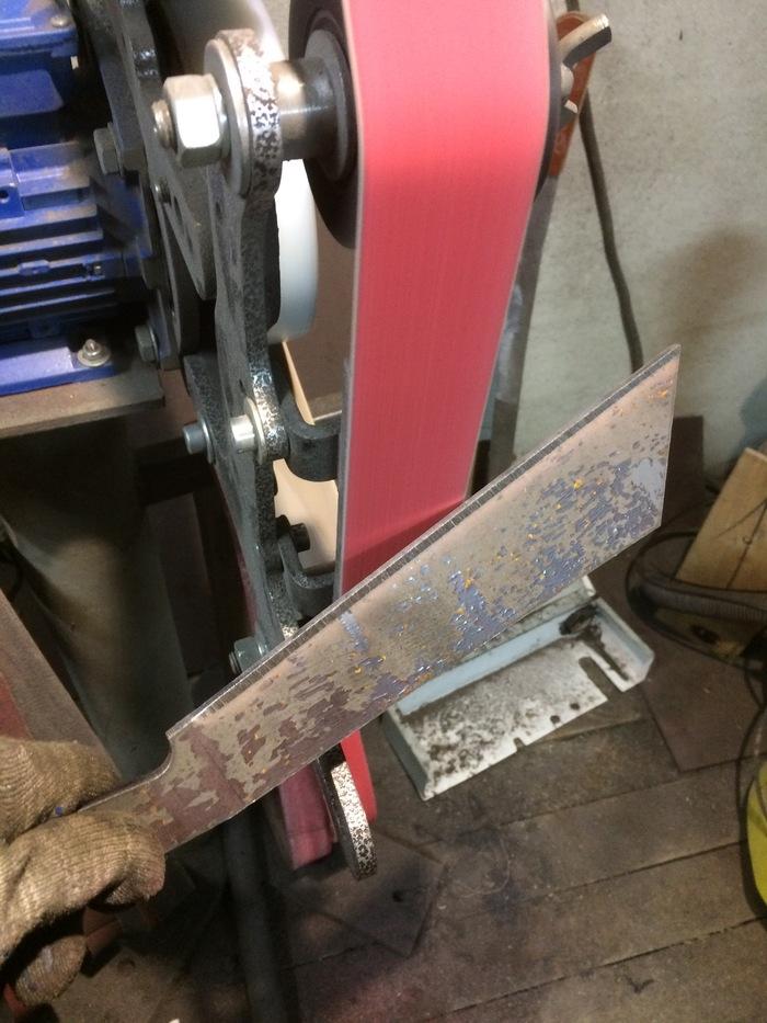 """Изготовление тяжелого ножа """"Славный рубака"""". Рубака, Рубака нож тяжелый, Нож, Изготовление, Рукоделие с процессом, Видео, Длиннопост"""