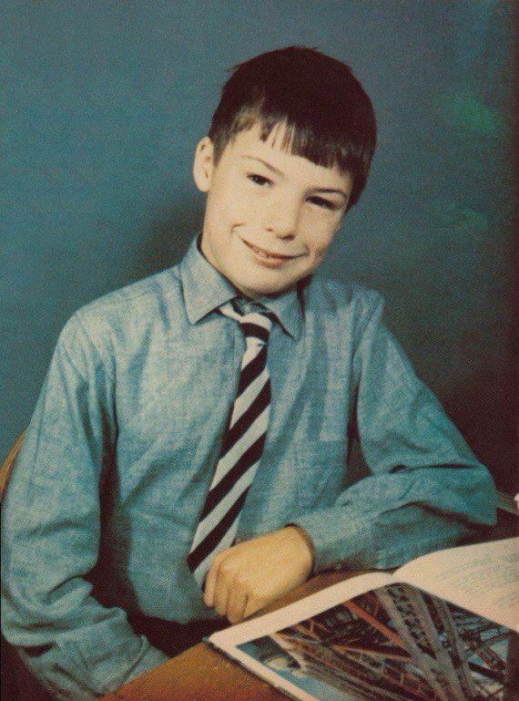 Сид Вишес во время учебы в школе Clissold Park в Лондоне, 1972 год.
