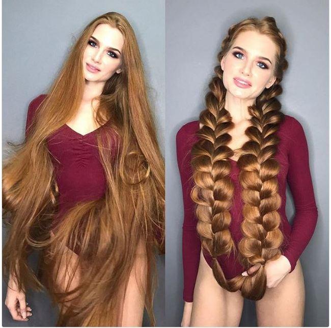 Девушка рыжая русская