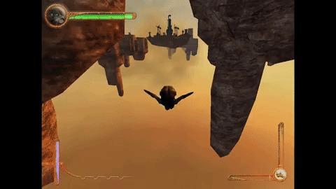 [Игры-2000] PROJECT NOMADS - Пушки, бомбы, два крыла Игры, Игры 2000-х, Project nomads, Самолет, Action, Видео, Гифка, Длиннопост