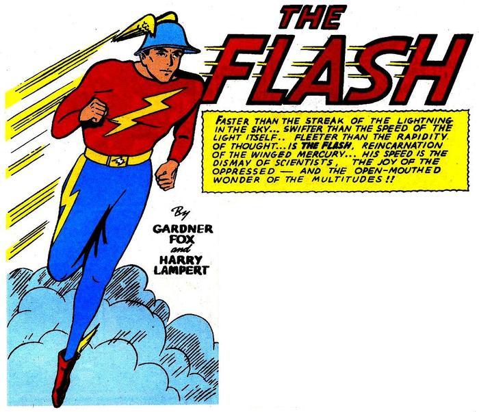 Факты о супергероях: Флэш, Джей Гаррик Супергерои, Dc comics, The Flash, Джей Гаррик, Комиксы-Канон, Длиннопост