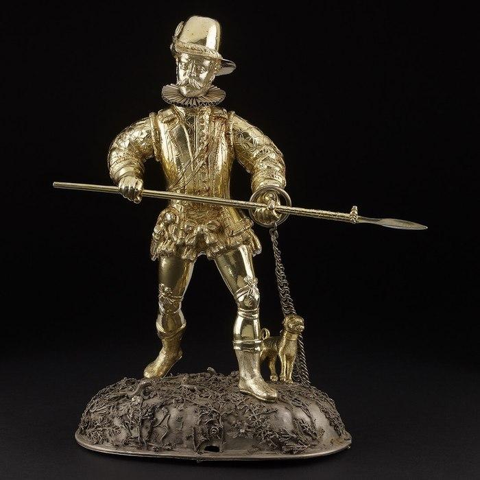 Механический охотник Серебро, Безделушки, 17 век