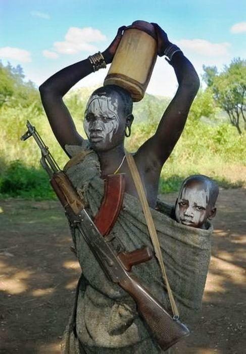 Домохозяйка. Африка, Домохозяйка