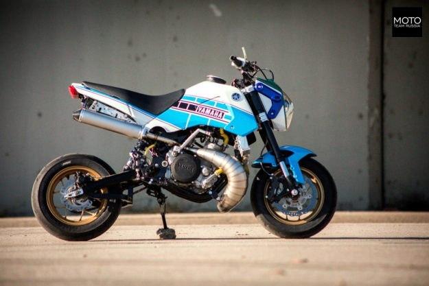 Бешеная табуретка или Honda Gromahа Мото, Кастом, Yamaha, Honda, Питбайк, Длиннопост