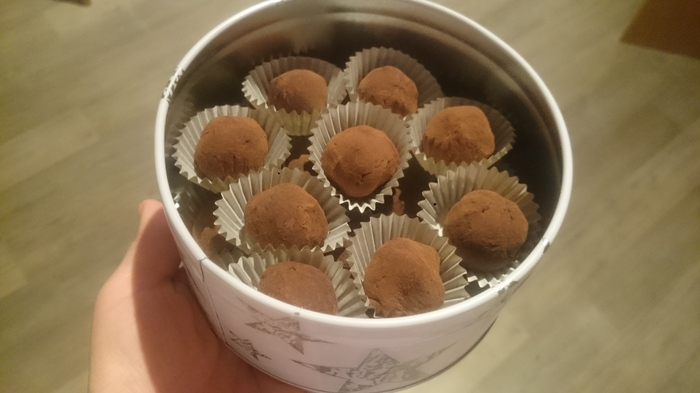 """Шоколадные конфеты """"Трюфель"""" Конфеты, Трюфели, Кондитерская, Вкусно, Шоколад, Длиннопост, Рецепт"""