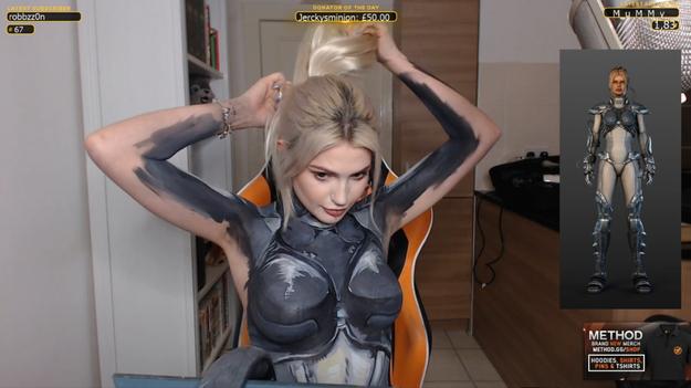 Девушка обманула цензуру и провела стрим с голой грудью Twitchtv, Nova terra, Грудь