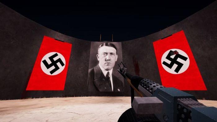 Wolfenstache. Wolfenstein, Пародия, Адольф Гитлер, Усы