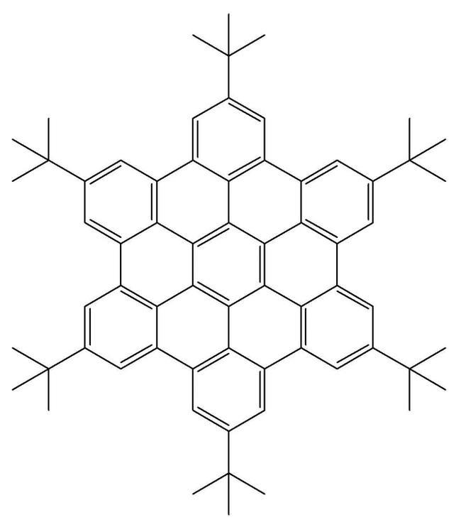 Гексатретбутил-гексабензокоронен определенно создает праздничную зимнюю атмосферу