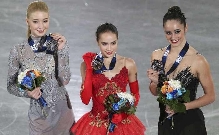 Победа! Алина Загитова, Мария Сотскова, Фигурное катание, Победа, Евгения Медведева, Длиннопост