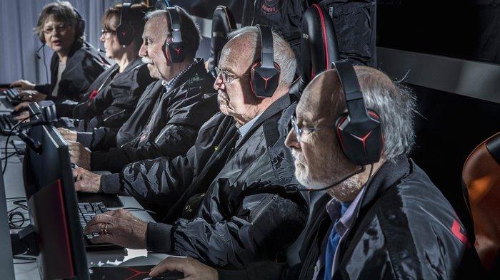 В бой идут одни старики Cs:GO, Команда, Игры, Снайперы, Швеция, Старики-Разбойники