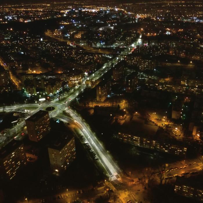Ночной Вроцлав Польша, Вроцлав, Фотография, Ночной город