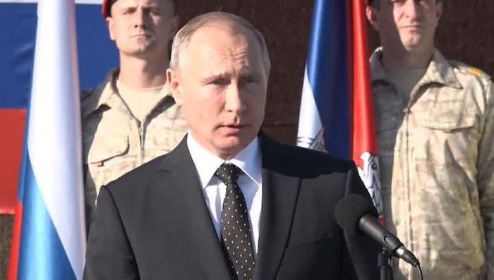 Если в Сирии победила США , коалиция, Франция тогда почему туда полетел Путин? Сирия, Политика, Путин, Победители