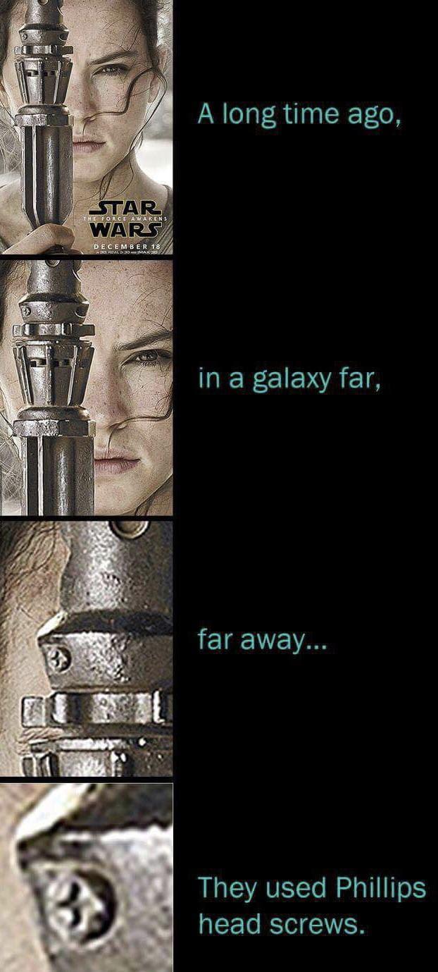 In a galaxy... Star wars, 9gag, Шуруп