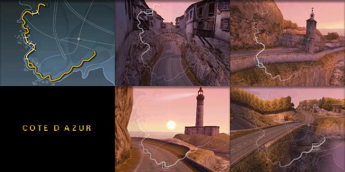 Все трассы в Need for Speed: Porsche Unleashed Need for Speed, Porsche, Длиннопост, Скриншот