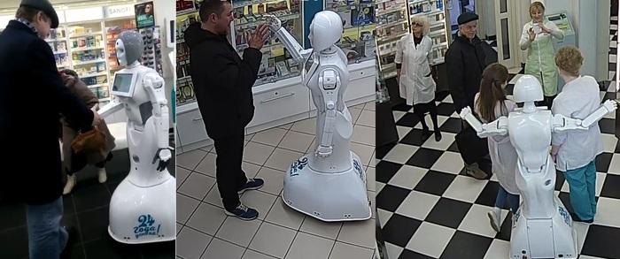 Про роботов Робот, Аптека, Видео, Длиннопост