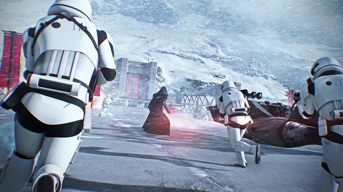 Join the rise of Darth Vaders elite 501st Legion of Stormtroopers as you fight through an all new storybased saga where every action you take impacts the