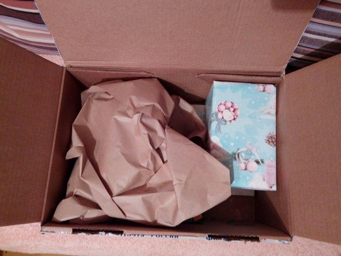 Волшебный подарок от снегурочки: Москва-Ярославль Новый Год, Тайный Санта, Обмен подарками, Длиннопост, Подарок