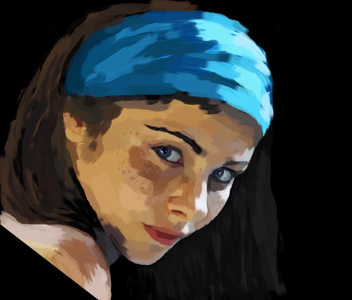 PAINt 3 Paint, Портрет, Арт, Длиннопост