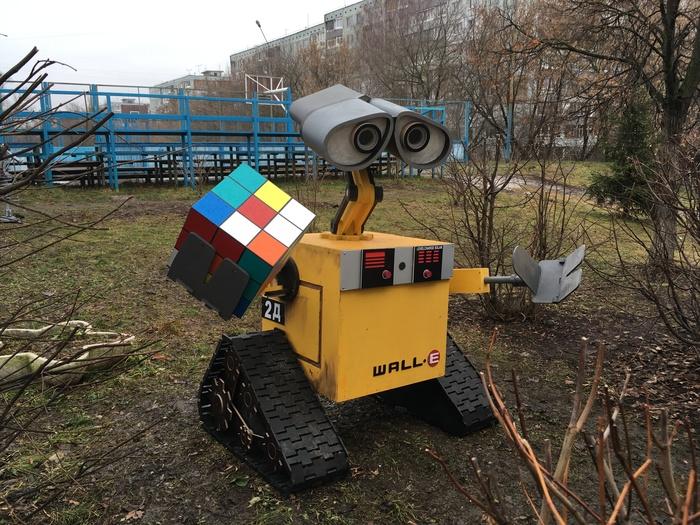 WALL-E Валл-и, Тула, Школа, Робот