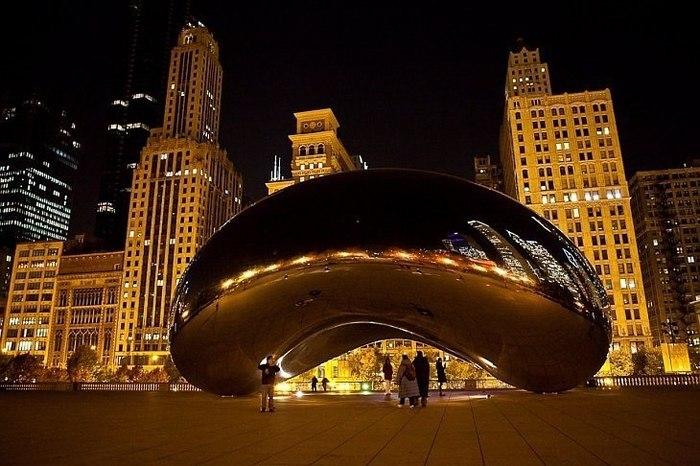 Чикаго без пузыря, как Москва без Кремля! Скульптура, Архитектура, Чикаго, Баянометр молчит