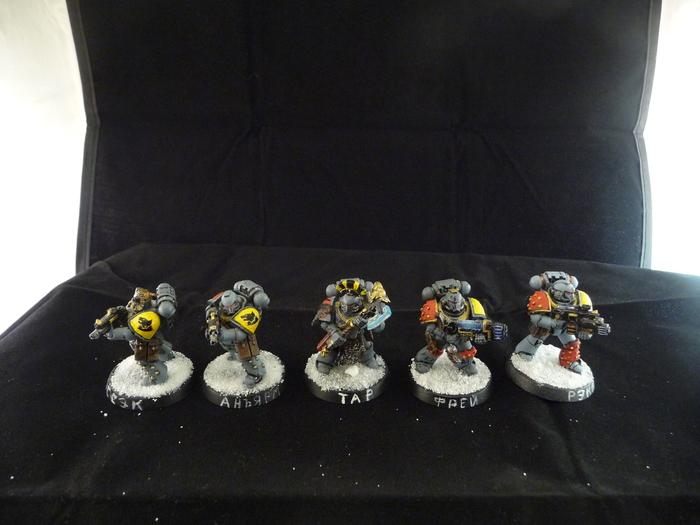 Космические Волки. Пехота. Warhammer 40k, Wh miniatures, Space wolves, Дредноут, Длиннопост