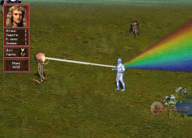 Физика меча и магии
