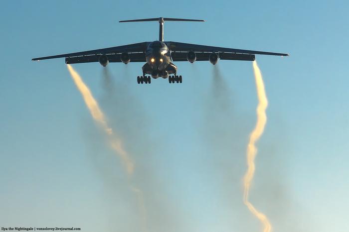 Ил-76 и морозная дымка авиация, фотография, Ил-76, длиннопост