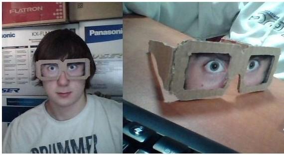 Очки для тех, кто спит на работе