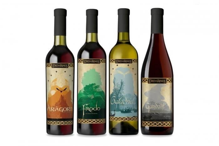Вино по мотивам «Властелина колец» agronews, алкоголь, властелин колец, Вино, Трилогия, Фильмы, длиннопост