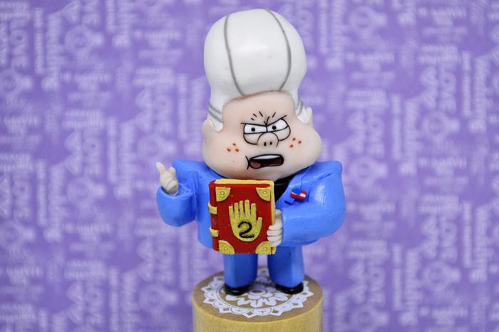 Мой Гравити Фолз (многофото) Полимерная глина, Фигуркиназаказ, Рукоделие, Фимо, Gravity Falls, Длиннопост