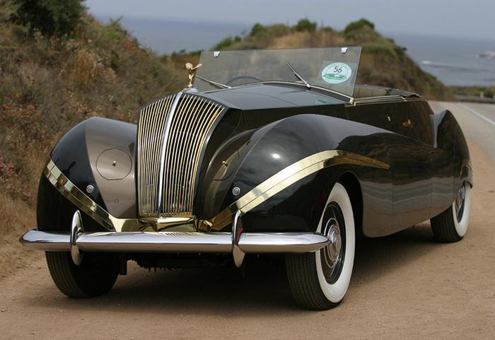 Rolls-Royce Phantom III Vutotal Rolls-Royce, Ретроавтомобиль, Техника, Авто, Редкие авто, Длиннопост