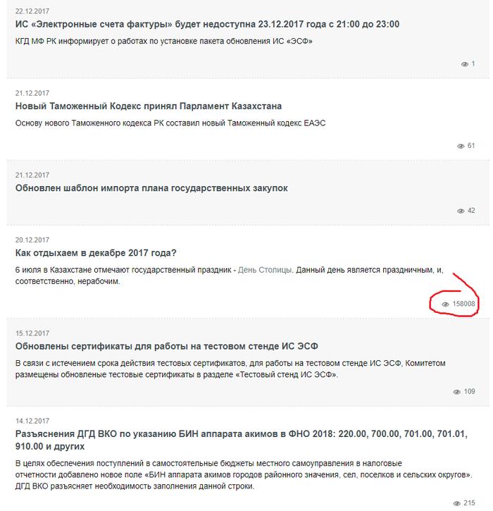 Приоритеты Праздники, 1с, Новости, Казахстан