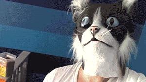 Кошачий колдун 2 Комиксы, Гифка с предысторией, Kat Swenski, Перевод, Гифка, Длиннопост, Кот