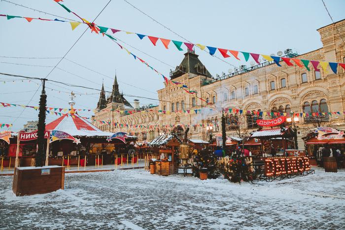 Предновогодняя Москва Москва, Новый Год, Рождество, Зима, Декабрь, Предновогоднее настроение, Ярмарка, Длиннопост