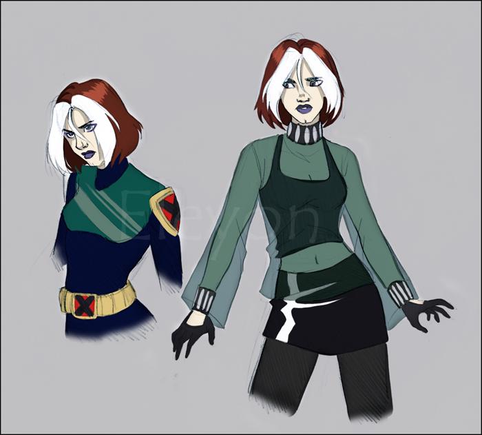 Rogue - by -Kinpatsu Косплей, Marvel, x-Men Evolution, Rogue, Девушки, Kinpatsu