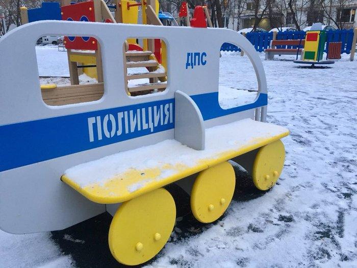 Просто детская площадка в Чертаново Дети, Детская площадка, Полиция, Москва, Чертаново, Внезапно, Длиннопост