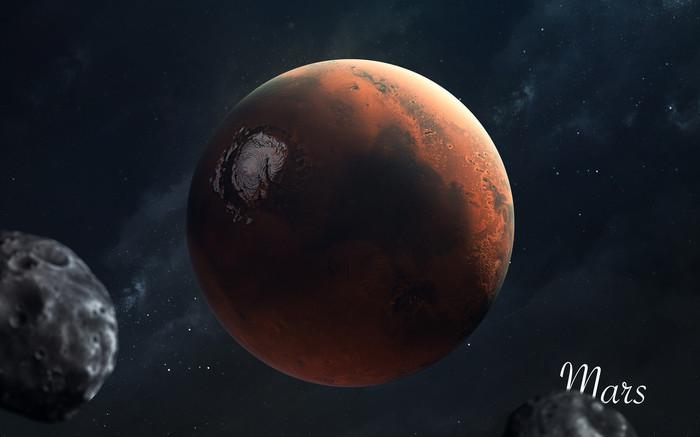 solar system mars 3d screensaver rixanecom - HD1920×1200