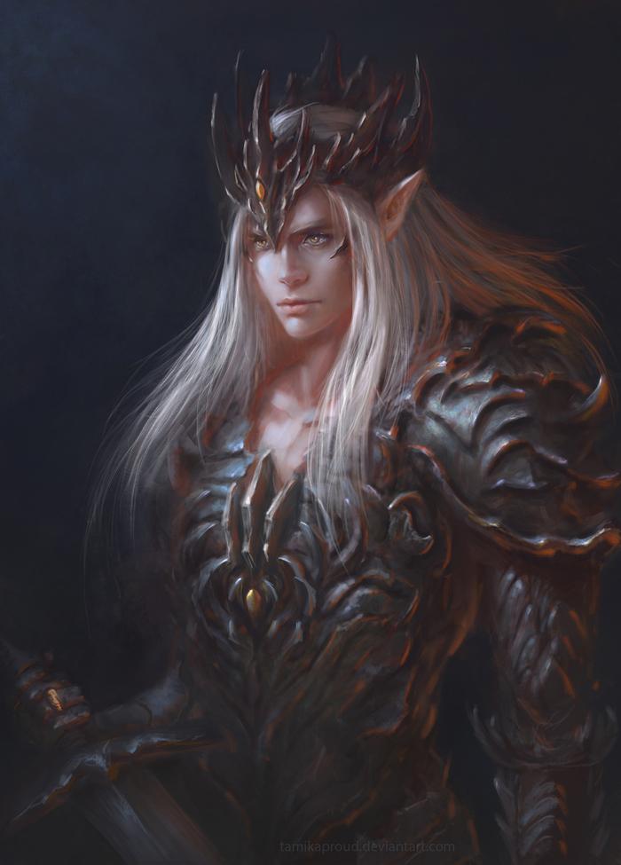 Dark Lord Саурон, Толкин, Сильмариллион, Рисунок
