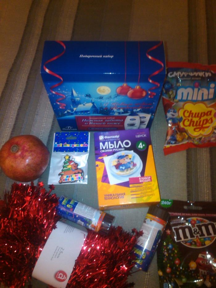 Подарок от Тайного Санты Новый Год, Тайный Санта, Подарок, Обмен подарками, Длиннопост