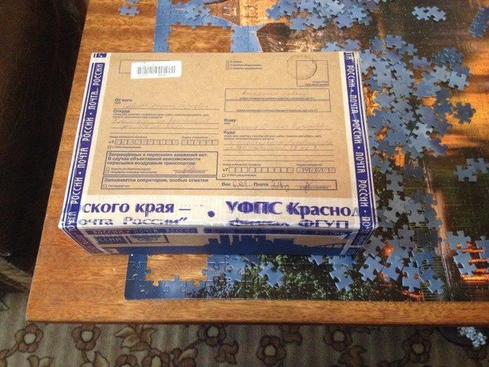 Мой подарок, спасибо, Дедушке Морозу из Краснодара Обмен подарками, Новый Год, Тайный Санта, Длиннопост