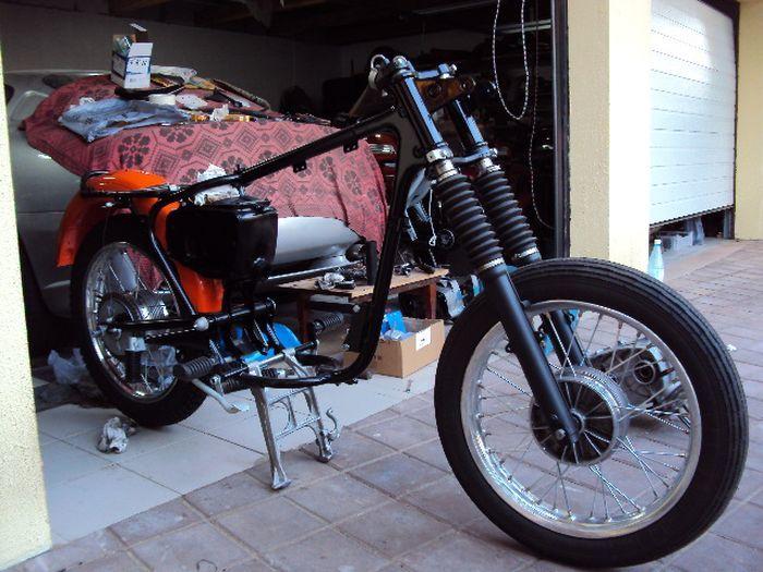Восстановление мотоцикла Cezet 350 Мотоциклы, Реставрация, Своими руками, Cezet, Не мое, Длиннопост