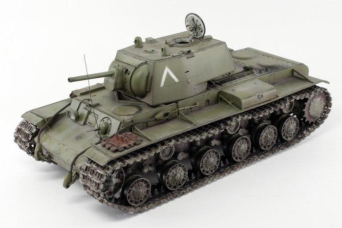 КВ-1 с орудием Ф-32 Моделизм, Кв-1, Длиннопост
