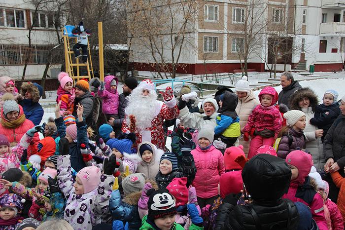 """Новогодний праздник """"Встречаем Новый год!"""" Новы, Новый Год, Дети, Праздники, Дед Мороз, Снегу, Снегурочка, Длиннопост"""