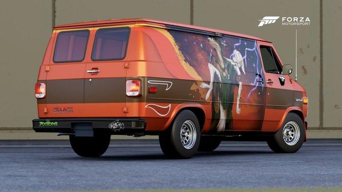 Фургон TheFishE77, Фургон, Зверополис